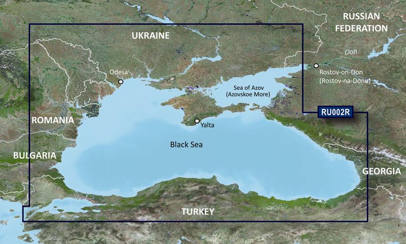 Карта на Черно и Азовско море за Garmin   Новини   Garmin