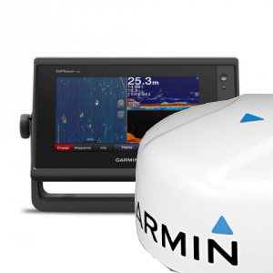 Комплект GPSMAP 722xs + GMR 18HD+ радар