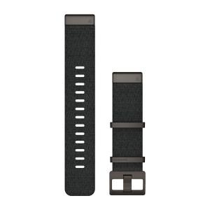QuickFit® 22 каишка от жакард - черна