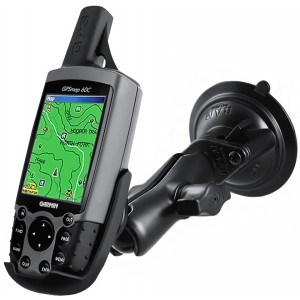 RAM® Twist-Lock™ монтажно с вакуум за GPS 60 и още