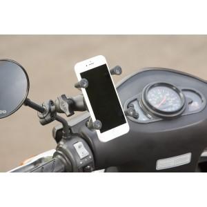 RAM® X-Grip® държач с RAM® Torque™ малка основа за релса - размер В