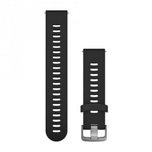 Бързоосвобождаваща се каишка - черна (20 мм)