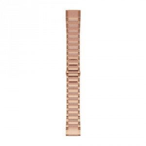 QuickFit® 20 Rose Gold-tone метална каишка