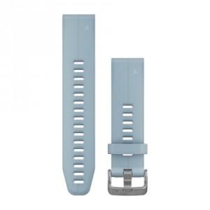 QuickFit® 20 Sea Foam Blue силиконова каишка