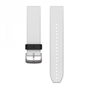 QuickFit® 22 бяла силиконова каишка