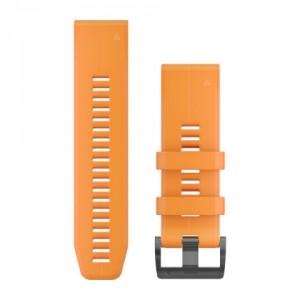 QuickFit® 26 Spark Orange силиконова каишка