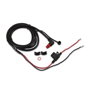 Захранващ кабел с конектор под прав ъгъл с резба (0.61 м)