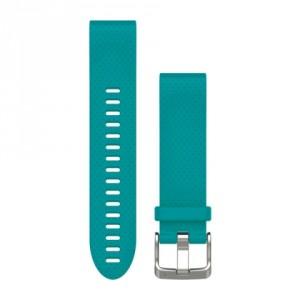 QuickFit™ 20 тюркоазена силиконова каишка