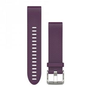 QuickFit™ 20 лилава силиконова каишка
