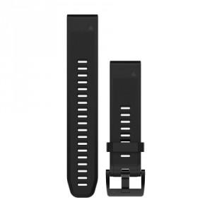 QuickFit™ 22 черна силиконова каишка