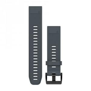 QuickFit™ 22 гранитено синя силиконова каишка