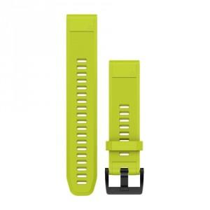 QuickFit™ 22 жълта силиконова каишка