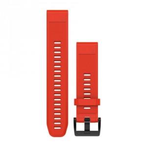QuickFit™ 22 червена силиконова каишка