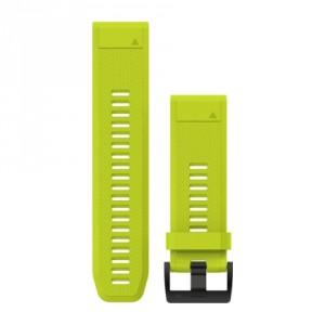 QuickFit™ 26 жълта силиконова каишка