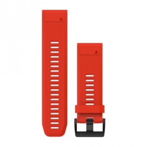 QuickFit™ 26 червена силиконова каишка
