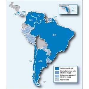 City Navigator® Южна Америка NT