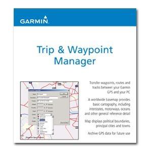 MapSource Trip & Waypoint Manager