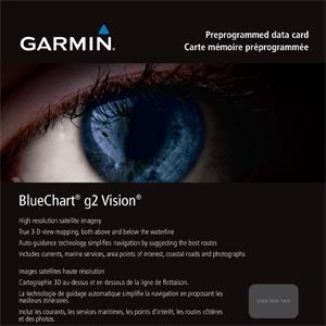 BlueChart g2 Vision за други морета и региони
