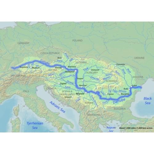 Karta Na Dunav